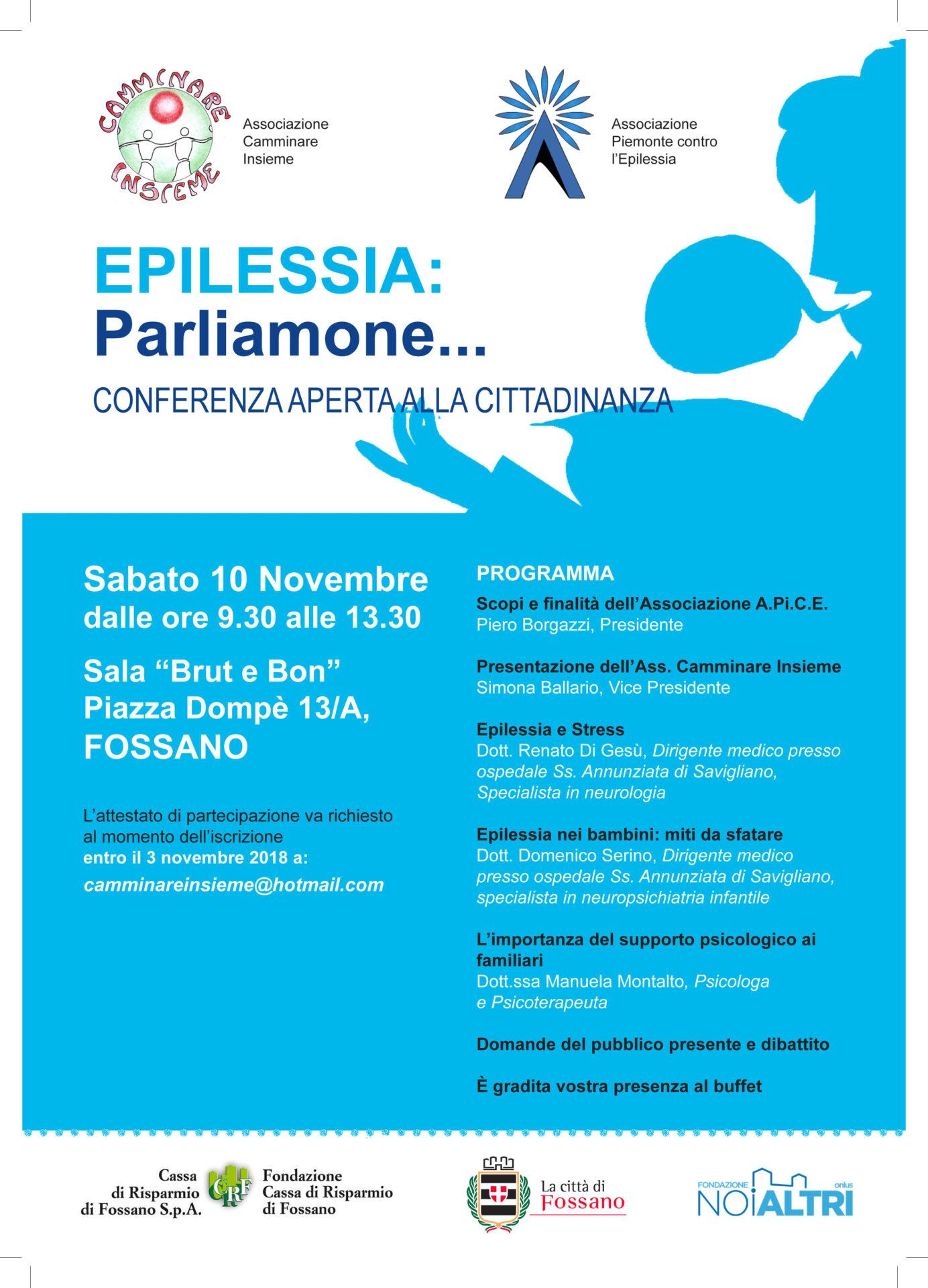 volantino epilessia
