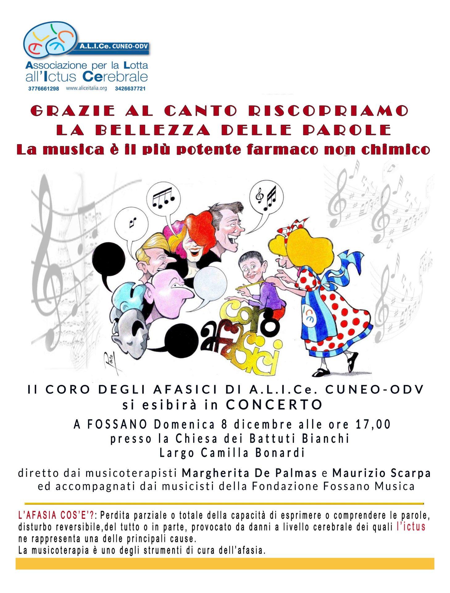 alice concerto 8 dicembre invito